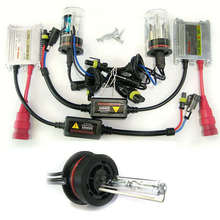 35W 12V Car Hid Xenon Conversion Kit Slim Ballast 9007 9007-1 12000K Beam Bulbs Lamp High Quality [C40]