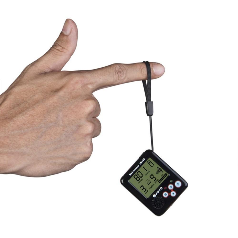 JM-60 Mini Portable Rechargeable Clip-on Electronic Digital Metronome Tone Generator Tuner For Guitar Violin