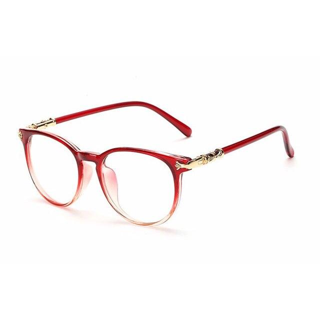 195b31357 Venda quente Dos Homens Das Mulheres Óculos de Armação Oculos de grau Lente  De Vidro Computador