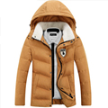 2017 New Brand Men's Down Jacket Casual Solid Turn-dwon Collar Parka Winter Jacket Men Fashion Overcoat Outerwear 785