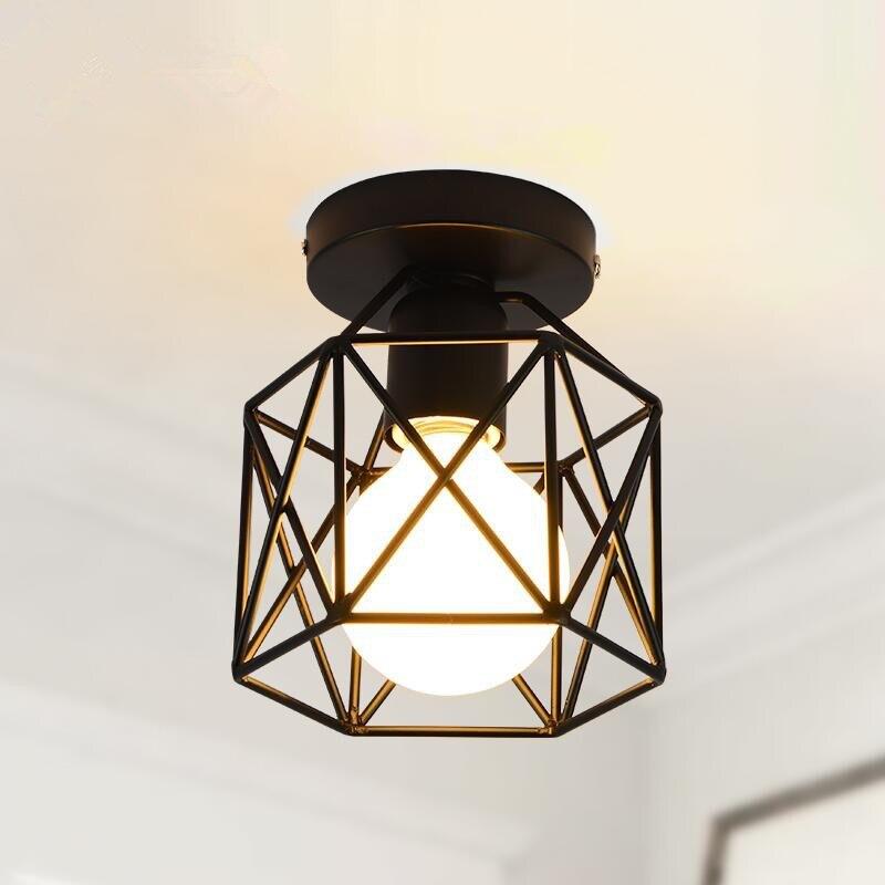 Aliexpress.com : Buy Vintage Ceiling Lights Iron Black ...