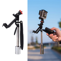 Cewaal Handheld Stabilizer Steadycam For Gopro Hero5 4 Auto Cell Phone Multifunction Video Camera Accessories