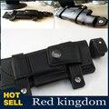"Recta Cinturón Vaina Vaina de Cuero Artificial 20x6.5 cm Para 6.5 ""Cuchillo Fijo Cuchillo de Color Negro Para La Caza accesorios"