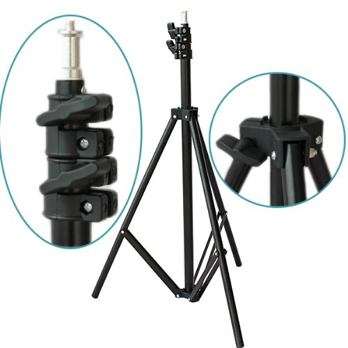 2M 7ft Light Lamp Umbrella Stand Tripod Lighting Kit for HTC Vive VR Youtube Videos Shooting Photographic Softbox Stand