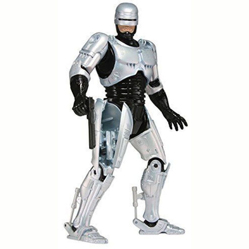 """<font><b>Robocop</b></font> Warrior 7"""" <font><b>Action</b></font> <font><b>Figure</b></font> Body with Spring Loaded Holster Model Toys Best Kids Gifts Collections"""