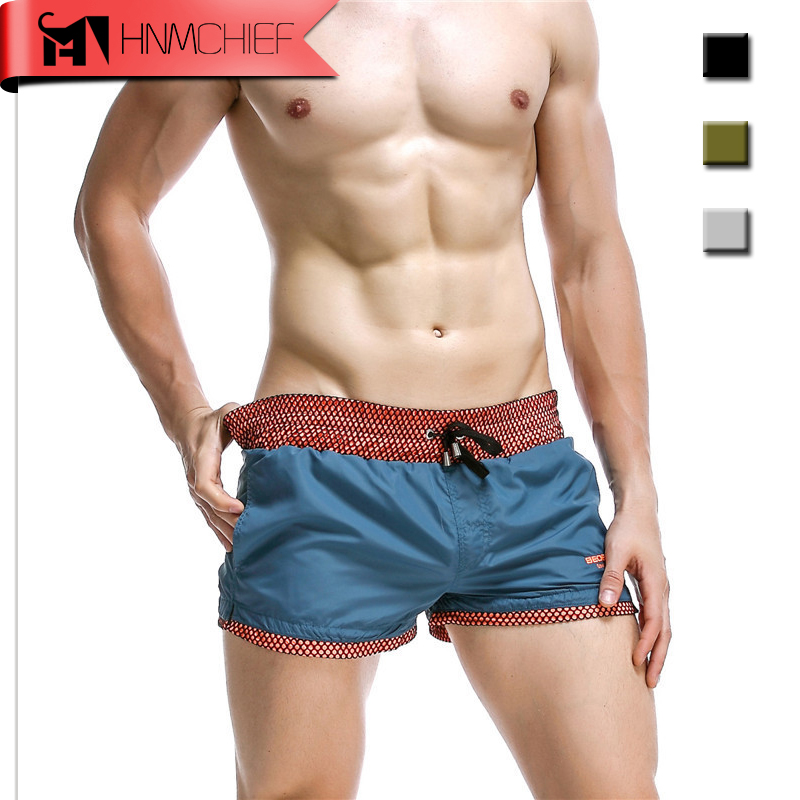 HNMCHIEF Brand Mens Swim   Shorts   Summer Men   Board     Short   Sport Surf Quick-Dry Beach   Short   for Men Athletic Running Gym   Short