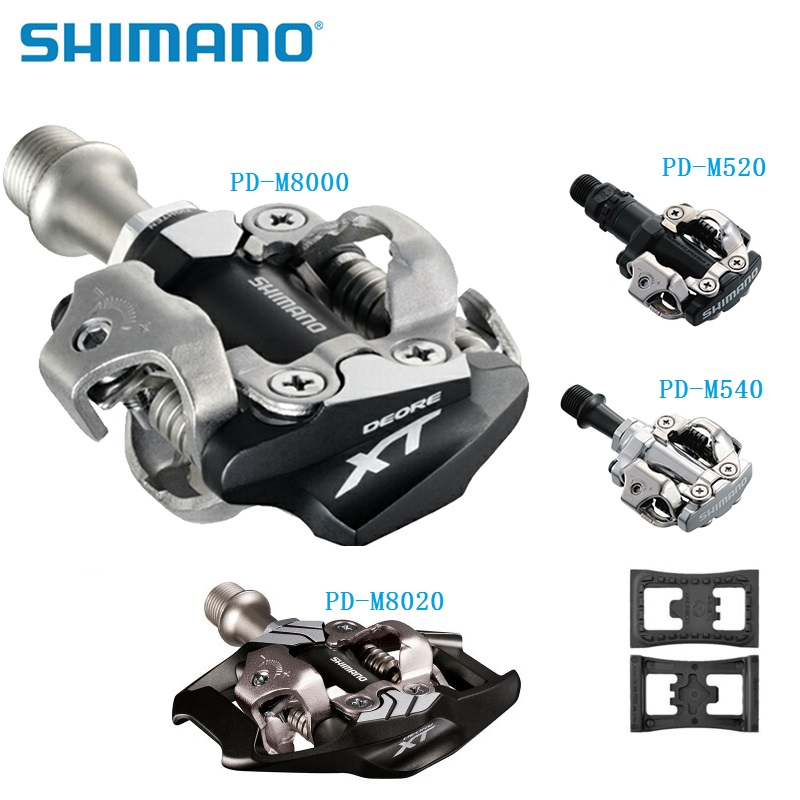 SHIMANO DEORE XT 8000 8020 Pedal PD22 PD M540 M520 Self Locking Pedal MTB Mountain Bike Pedals радиатор royal thermo dreamliner 500 6 секц радиатор алюминиевый