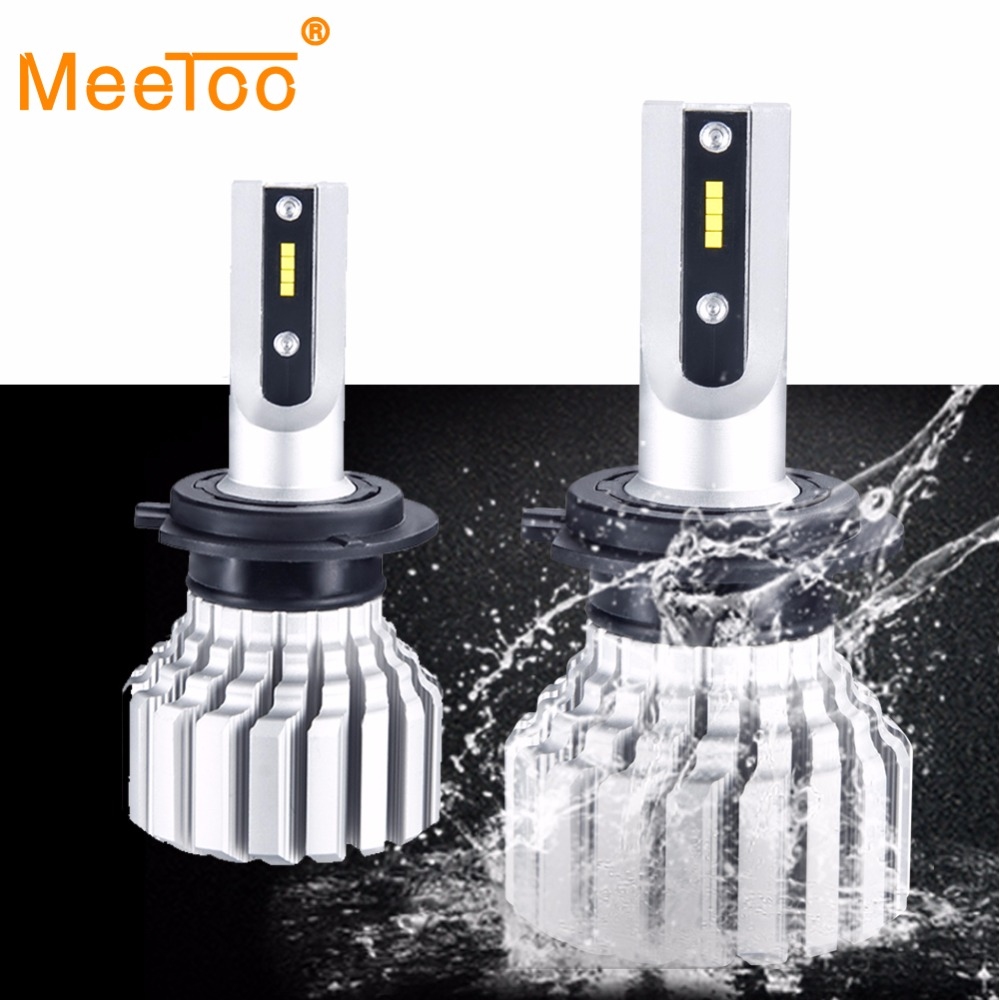 H4 H7 Fanless LED Car Headlight Bulbs H11 H8 H9 Hb3 6500K 12V LED Auto Light 10000Lm 72W CSP Chips 9005 9006 H3 H1 Led Lamp 24VH4 H7 Fanless LED Car Headlight Bulbs H11 H8 H9 Hb3 6500K 12V LED Auto Light 10000Lm 72W CSP Chips 9005 9006 H3 H1 Led Lamp 24V