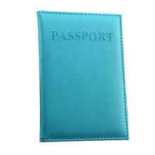 New Cover Travel Passport Cover Card Case Women Men Travel Credit Card Holder Travel ID&Document Passport Holder #ND(China)
