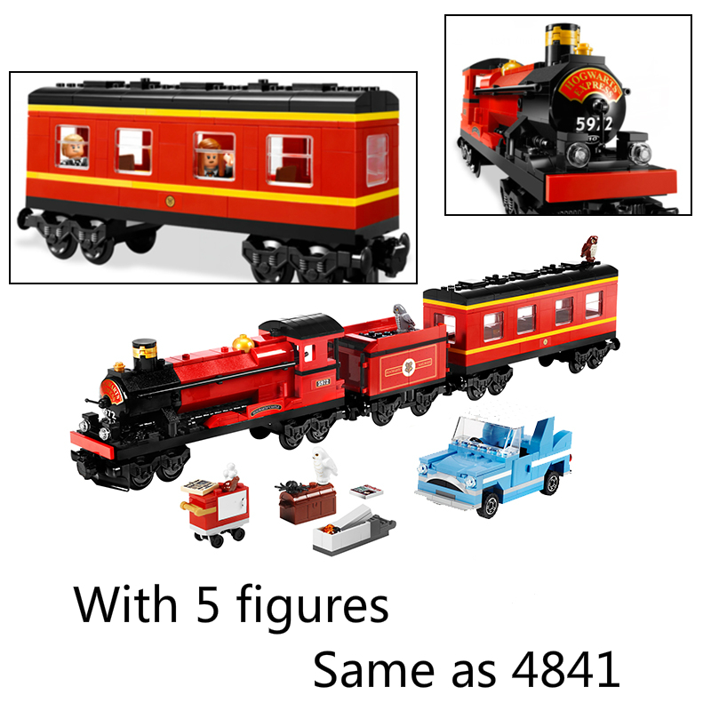 16031 724 Pcs Harry Potter Hogwarts Express Building Blocks Bricks Educational Toys for Children Gift Compatible with Legoe 4841
