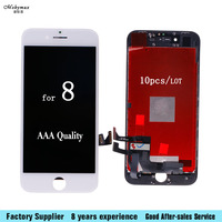10PCS Top Quality Grade AAA LCD Display Good 3D Touch For IPhone 8 LCD Assembly Replacement
