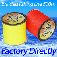 FISHING CORNER Brand Super Strong Japanese Braided Fishing Line 500m Multifilament PE Material BRAIDED LINE 10