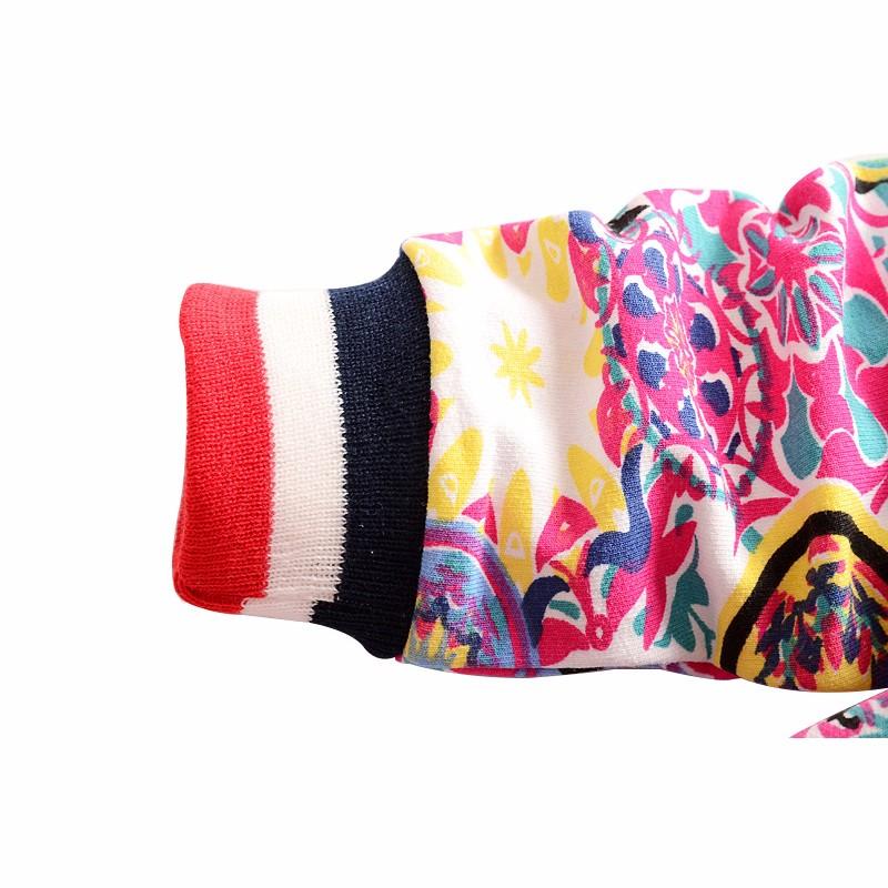 New Baby Coats Print Boys Girls Jackets Spring Autumn V Neck Cardigan Coat Fashion Infant Cotton Coat 7-24 Months Baby Clothing (9)
