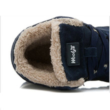 Shoes Sneakers Winter Men Casual Shoes Warm Fur Winter Shoes Men Shoes Flock Men Sneakers Black Plus Size Black