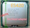 Intel Xeon E5420 2.5 ГГц/12 М/1333 МГц/80 Вт Процессор равна Core 2 Quad Q9300 CPU Q6600 (LGA 775 материнская плата не требуется адаптер)