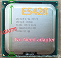 Intel Xeon E5420 2.5GHz/12M/1333Mhz/80W  Processor equal to Core 2 Quad Q6600 Q9300 CPU (LGA 775 mainboard no need adapter)