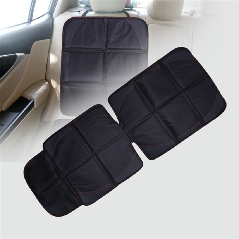 Car Seat Cover Oxford Luxury Leather Breathable Anti-Slip Protector Child Baby Auto Seat Protector Mat 123x48cm (8)