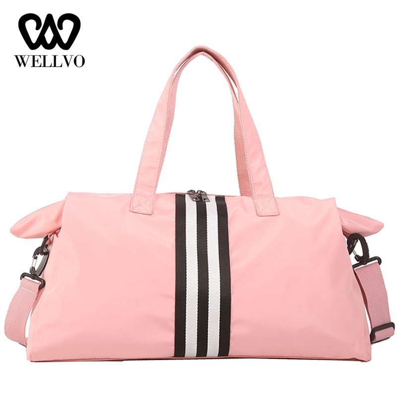 Fashion Girls Travel Bag Large College Hand Luggage Casual Weekend Bags Multifunction Ladies Duffle Bags For Women 2019 XA737WB