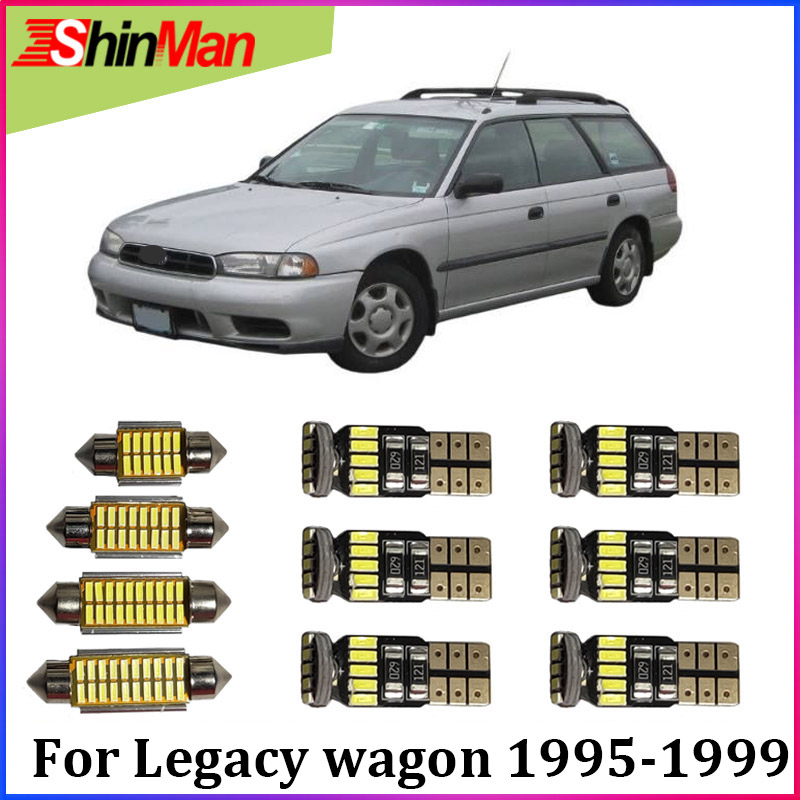 ShinMan 11x светодиодный автомобильный светильник, Автомобильный светодиодный внутренний светильник для автомобиля, светильник для чтения s дл...