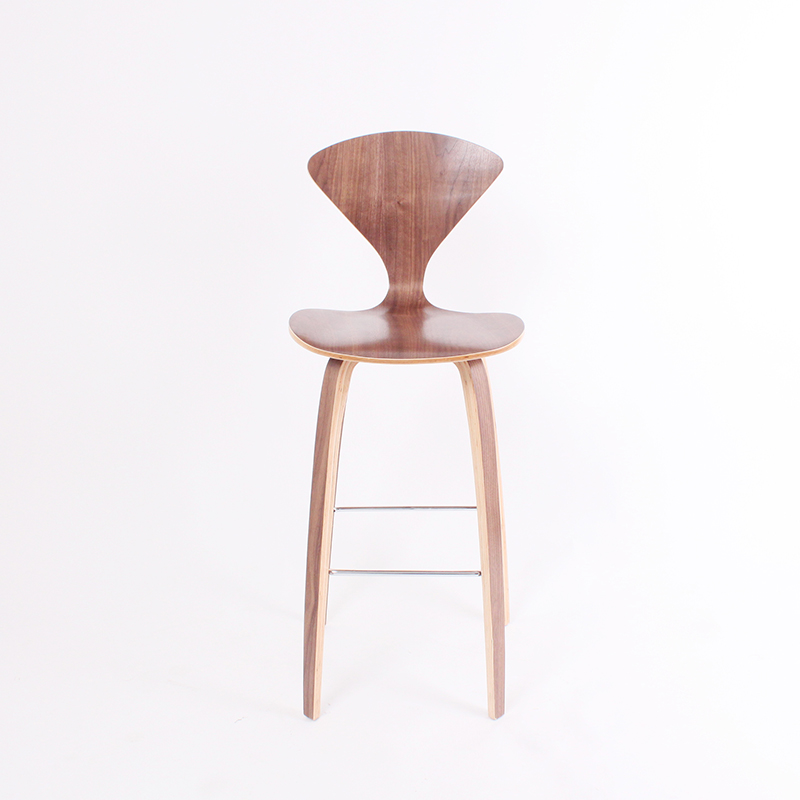 CH218 Natural side chair walnut or ash wooden Norman Cherner bar Chair Plywood chairs red black white dining chair free shippingCH218 Natural side chair walnut or ash wooden Norman Cherner bar Chair Plywood chairs red black white dining chair free shipping