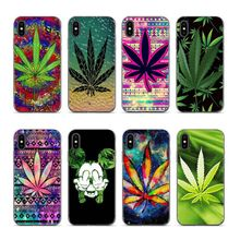Aiboduo Abstractionism Art high weed Soft silicone cover Case for iphone XS XR XSMAX 7 7plus 8 8plus 5 5s 6 6plus coque