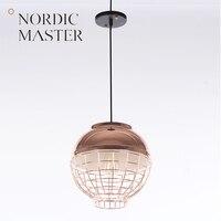 Nordic Master Modern Pendant Lights Lamps For Dining Room Black White Fashion LED Pendant Lighting Simple