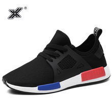 Plus Size 46 New Fashion Light 2019 Spring Summer Man Casual Boosts Shoes Person Race Black Sneakers zapatillas hombre
