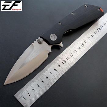 Eafengrow EF335 58-60HRC D2 Blade G10 uchwyt składany nóż Survival narzędzia kempingowe myśliwski scyzoryk kieszonkowy taktyczne edc narzędzia do pracy na zewnątrz tanie i dobre opinie Obróbka metali STEEL Camping Knife