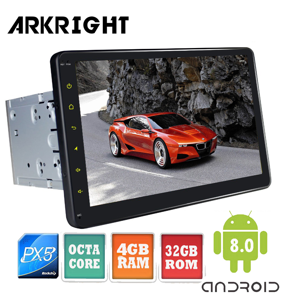 ARKRIGHT Octa Cores 10 4GB 32GB Double 2 Din Android 8 0 Head Unit For Toyota