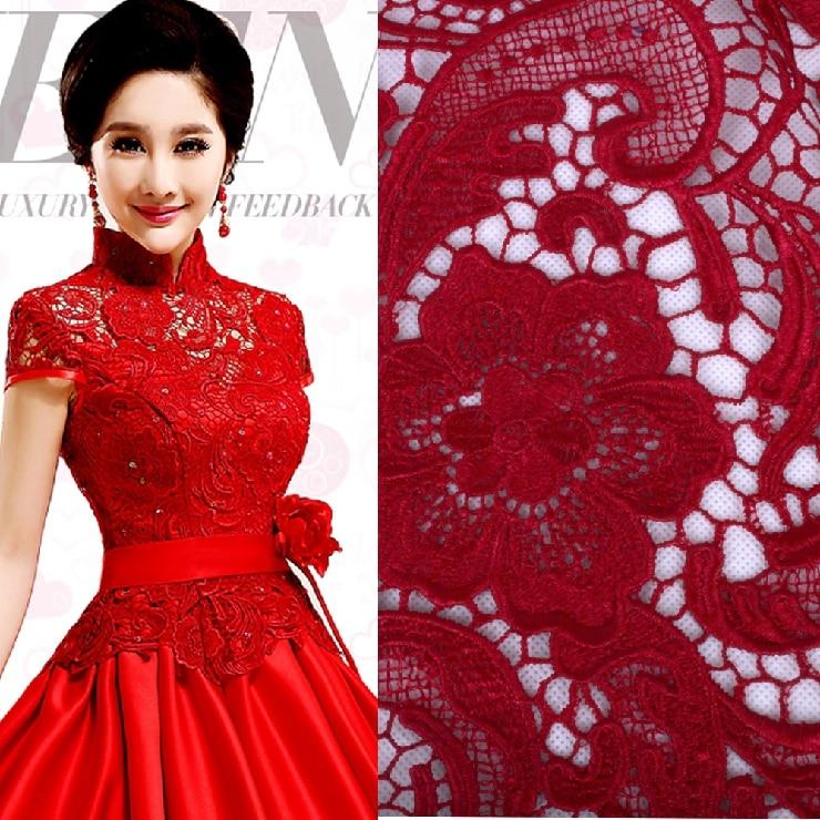 Krajky tkanina pro svatební šaty africké guipure krajky - Umění, řemesla a šití