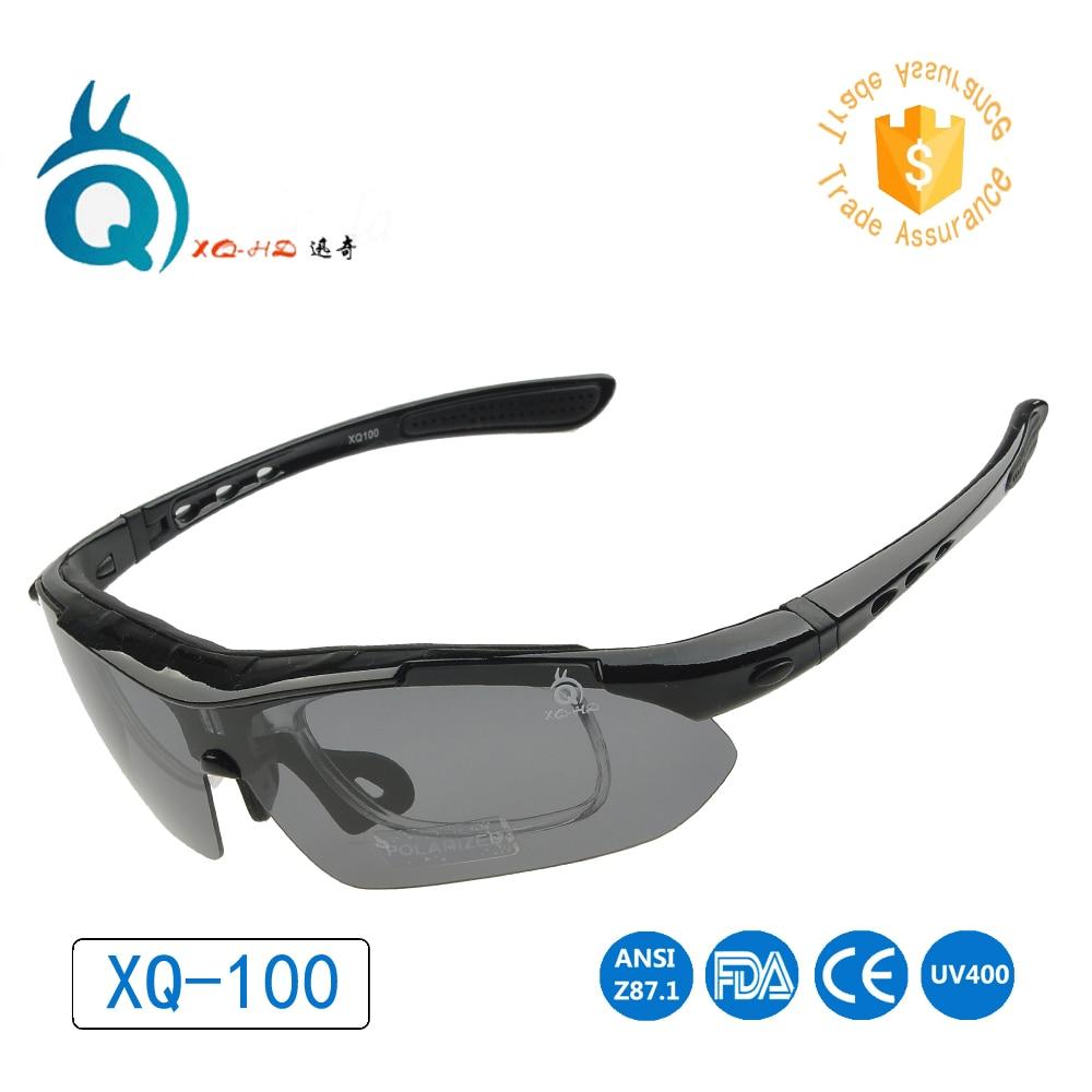 2020. gada bezmaksas piegāde Sporta brilles Velosipēdu riteņbraukšanas brilles UV400 acu aizsardzība vīriešiem un sievietēm ar polairizētām saulesbrillēm XQ100S