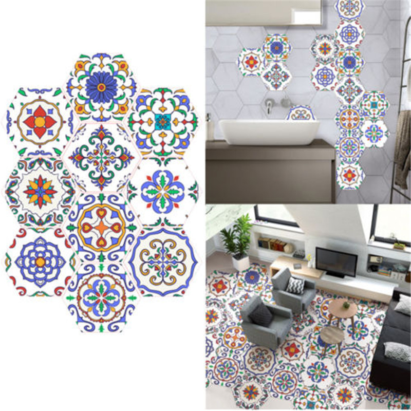 New And Fashion Classic Backsplash Tile Stickers Traditional