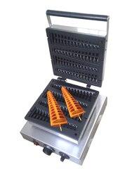 Electric 110v 220v Pine Tree Shape  Lolly waffle maker waffle stick waffle grill