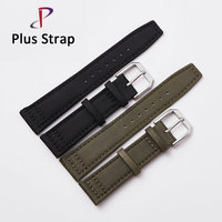 High Quality Men Nylon Watchband Watch Belt For IWC Mark 17 Series Replacement Wristband Watch Strap