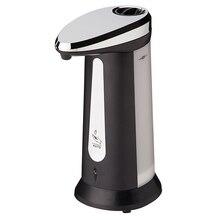 400 мл ABS Гальваническим Автоматические Дозаторы Жидкого Мыла для Кухни Ванная Комната Смарт-Бесконтактный Датчик Дезинфицирующее Средство Dispensador ZJ118