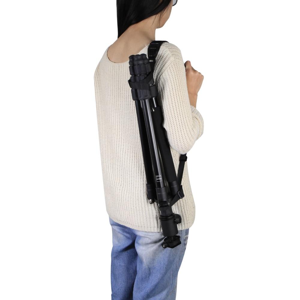 Quick Release Buckle Adjustable Shoulder Sling Belt Strap For Tripod Photo Studio kits tripod shoulder strap Fotografia