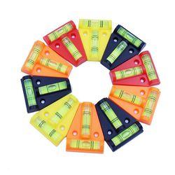 QASE Mini poziomica urządzenie pomiarowe t type Level Bubble cztery style w Przyrządy do pomiaru poziomu od Narzędzia na