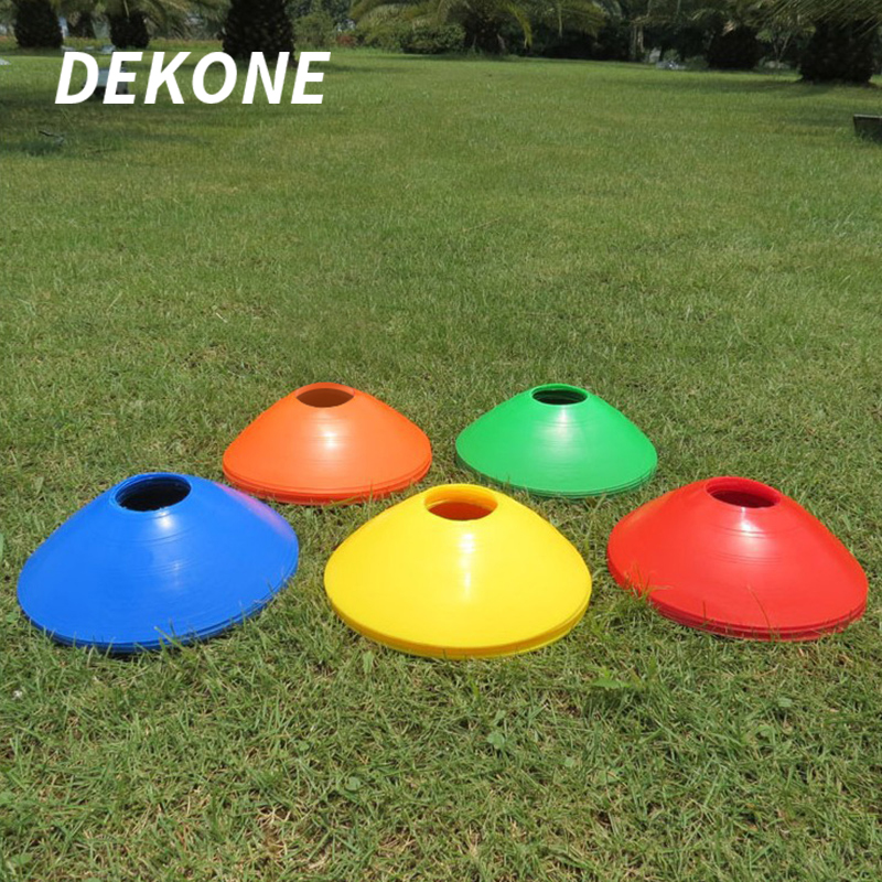 Space Markers Cones Environmentally Friendly PVC Random Colors Suit Inline Skating Skateboard Soccer Football Training Equipment