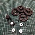 Creality CR-10/Эндер 3/3S Pro 3D принтер алюминиевая твердая кровать крепление кровать выравнивания ручка комплект обновления однотонный спейсер нат...