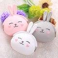 Cute Rabbit Silicone Coin Purse Women's Wallet Korean Cartoon Bag Ladies Candy Color Women Bag Kid Gift
