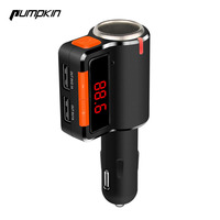 Wireless Car Bluetooth FM Transmitter Radio Adapter With Dual USB Car Charger Cigarette Lighter For IPhone