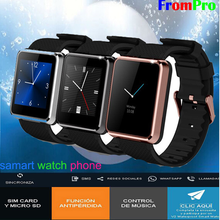 smart watch F1 wrist watch font b SmartWatch b font for Android phone smartphones for men