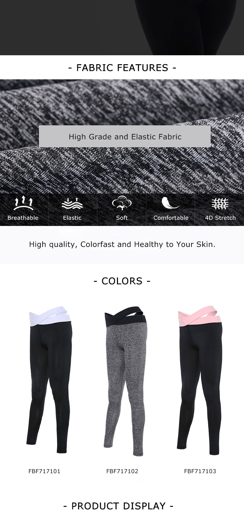 VANSYDICAL Leggings Women Sexy Yoga Pants Sports Pants Elastic Fitness Pants Workout Running Tight Sport Legging Female Trousers 13
