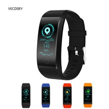 Bluetooth Smart Watch Blood Pressure Measurement QW18 Smart Band Fitness Wristband With Pedometer Sport Bracelet For IOS Android
