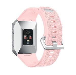 Image 3 - ZENHEO наручный ремешок для Fitbit ионизированный спортивный ТПУ силиконовый сменный ремешок на запястье для Fitbit ионизированные Ремешки для наручных часов