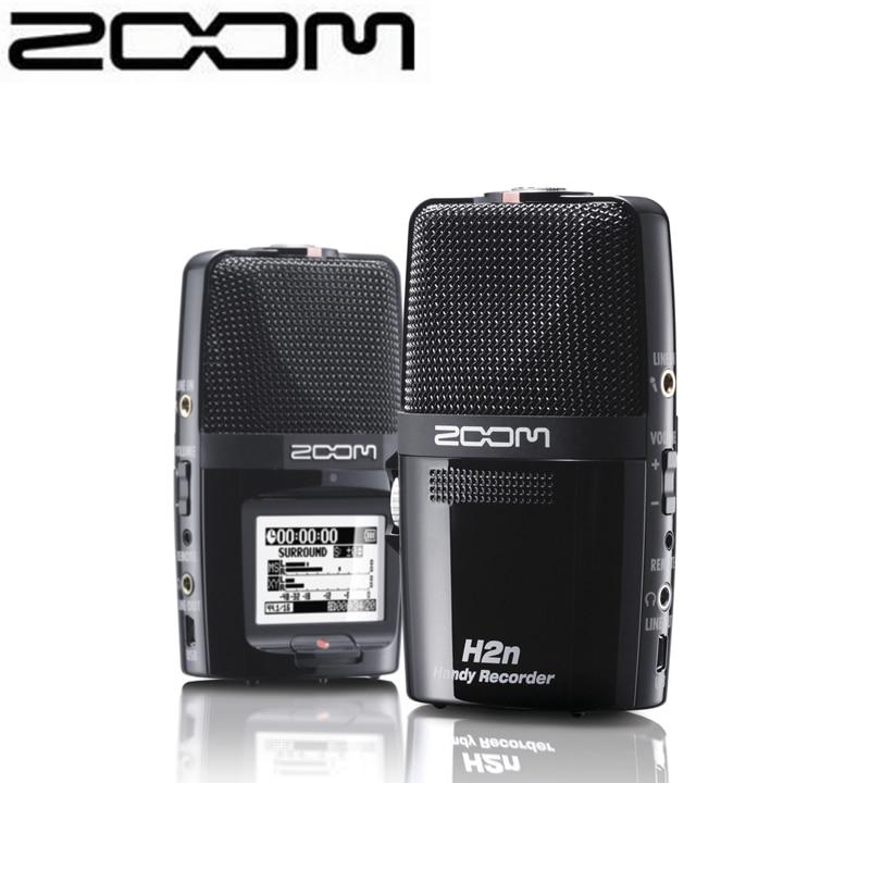 NEW Zoom H2n Portable Digital Audio Flash Recorder Handy Recorder recording pen