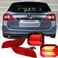 26 LEDs Lens Red carro pára choque traseiro refletores para S ubaru XV cauda parar luz de freio luz de nevoeiro fit WRX Impreza LEVORG Crossover Exiga