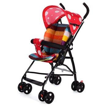 Regenschirm Mit Lichtern | Super Licht Kleine Baby Kinderwagen Tragbare Sonnenschirm Regenschirm Faltbare Baby Kinderwagen Auto Kinderwagen Kinderwagen Buggy Baby Trolley Marken