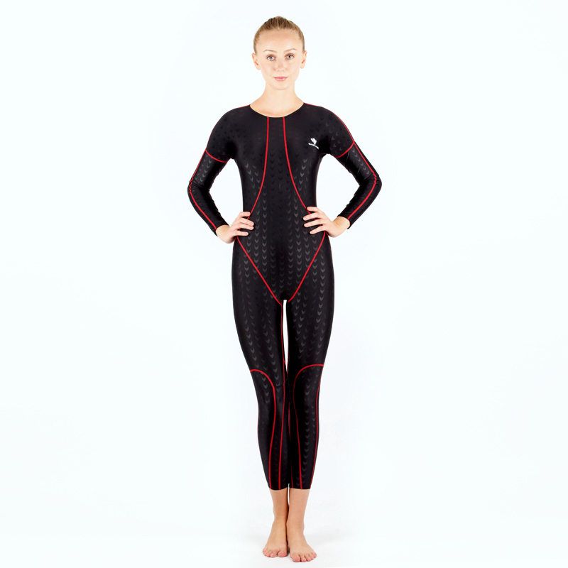 HXBY Racing Long Sleeve Swimwear Women Full One Piece Swimsuit Swimming Suit For Women Bathing Suit Maillot Bain Femme Swimsuit