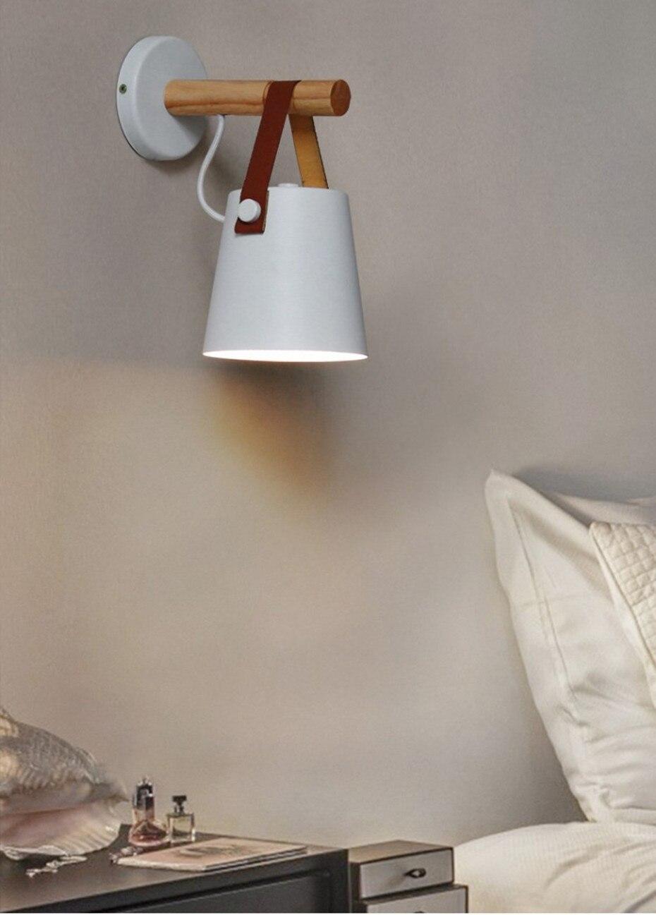 lâmpada de parede quarto luzes de parede